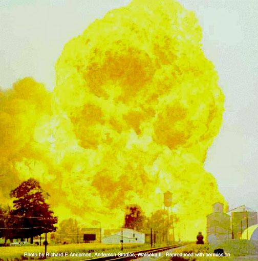 Kingman Explosion